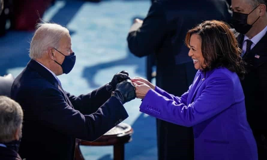 A day of firsts: five key takeaways from Biden's historic inauguration | Biden  inauguration | The Guardian